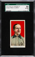 Baseball Cards:Singles (Pre-1930), 1910 E104-2 Nadja Caramels Fred Clarke SGC 80 EX/NM 6 - Highest SGCGraded E104-2! ...