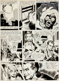 "Original Comic Art:Panel Pages, George Roussos Tales of the Unexpected #88 ""The Curse of theMystic Mask"" Page 2 Original Art (DC, 1965)...."