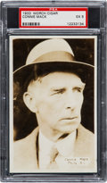 Baseball Cards:Singles (1930-1939), 1933 Worch Cigars Connie Mack PSA EX 5 - Only Unqualified Exampleon Record! ...