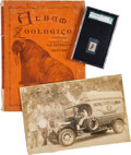 "Baseball Cards:Singles (1930-1939), 1930's Baguer Chocolate Walter Johnson, ""Zoologico"" Card Album and Photo. ..."