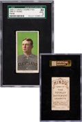 Baseball Cards:Singles (Pre-1930), 1909-11 T206 Hindu (Brown) Cy Young, Portrait SGC 30 Good 2....