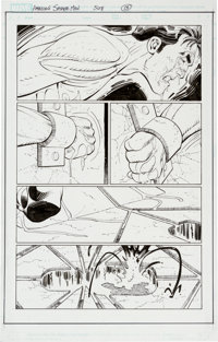 John Romita Jr. and Scott Hanna Amazing Spider-Man #508 Page 13 Original Art (Marvel, 2004)