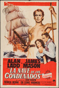 "Movie Posters:Adventure, Botany Bay & Others Lot (Paramount, 1953). Argentinean Posters(10) (29"" X 43"") & Trimmed Argentinean Poster (27"" X 41.5"").... (Total: 11 Items)"