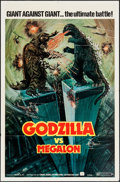 "Movie Posters:Science Fiction, Godzilla vs. Megalon (Cinema Shares International, 1976). One Sheet(27"" X 41""). Science Fiction.. ..."