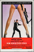 """Movie Posters:James Bond, For Your Eyes Only (United Artists, 1981). One Sheet (27"""" X 41"""").James Bond.. ..."""