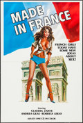 """Movie Posters:Adult, Made in France & Other Lot (Les Films Hustaix, 1975). One Sheets (46) (27"""" X 41""""). Adult. Original Title: French Romance... (Total: 46 Items)"""