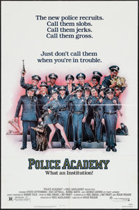 "Police Academy & Others Lot (Warner Brothers, 1984). One Sheets (45) (27"" X 41""). Comedy. ... (Total: 45 I..."