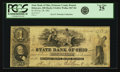 Obsoletes By State:Ohio, Delaware, OH - State Bank of Ohio, Delaware County Branch $1 Oct.28, 1861 OH-5-G624, Wolka 1027-04. PCGS Very Fine 25.. ...