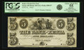 Obsoletes By State:Ohio, Xenia, OH - Bank of Xenia $5 Post Note 18__ OH-455 UNL, Wolka2889-07Var Proof. Choice About New 55 Apparent.. ...