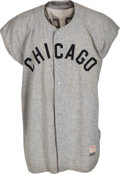 Baseball Collectibles:Uniforms, 1959-60 Ted Kluszewski Game Worn Chicago White Sox Jersey, MEARS A10....