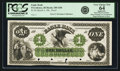 Obsoletes By State:Rhode Island, Providence, RI - Eagle Bank $1 March 4, 186_ RI-285 G8b, Durand 252. Proof. PCGS Very Choice New 64 Apparent.. ...