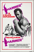 "Movie Posters:Blaxploitation, Hammer (United Artists, 1972). One Sheet (27"" X 41"").Blaxploitation.. ..."