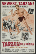 """Movie Posters:Adventure, Tarzan Goes to India (MGM, 1962). One Sheet (27"""" X 41""""). Adventure...."""