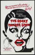 """Movie Posters:Rock and Roll, The Rocky Horror Picture Show (Broadway Play, 1973). Window Card (14"""" X 22""""). Rock and Roll. ..."""