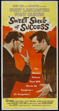 "Movie Posters:Drama, Sweet Smell of Success (United Artists, 1957). Three Sheet (41"" X81""). Drama. ..."