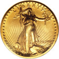 Proof High Relief Double Eagles, 1907 $20 High Relief PR65 NGC....