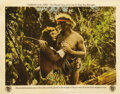"""Movie Posters:Adventure, Tarzan of the Apes (First National, 1918). Lobby Card (11"""" X 14""""). ..."""