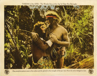 """Tarzan of the Apes (First National, 1918). Lobby Card (11"""" X 14"""")"""