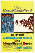 "Movie Posters:Western, The Magnificent Seven (United Artists, 1960). One Sheet (27"" X 41""). ..."