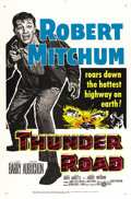 "Movie Posters:Crime, Thunder Road (United Artists, 1958). One Sheet (27"" X 41""). ..."