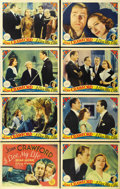 "Movie Posters:Comedy, I Live My Life (MGM, 1935). Lobby Card Set of 8 (11"" X 14""). ...(Total: 8 Items)"