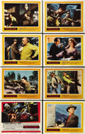 """Movie Posters:Film Noir, The Killing (United Artists, 1956). Lobby Card Set of 8 (11"""" X 14""""). ... (Total: 8 Items)"""