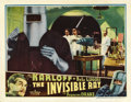 "Movie Posters:Horror, The Invisible Ray (Universal, 1935). Lobby Card (11"" X 14"")...."