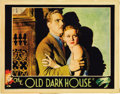 "Movie Posters:Horror, The Old Dark House (Universal, 1932). Lobby Card (11"" X 14""). ..."