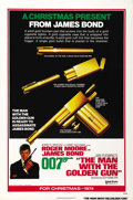 "Movie Posters:James Bond, The Man With the Golden Gun (United Artists, 1974). One Sheet (27""X 41"") Advance...."