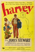 "Movie Posters:Comedy, Harvey (Universal International, 1950). One Sheet (27"" X 41""). ..."