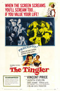 "Movie Posters:Horror, The Tingler (Columbia, 1959). One Sheet (27"" X 41""). ..."