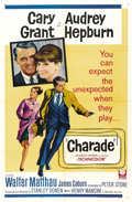 "Movie Posters:Mystery, Charade (Universal, 1963). One Sheet (27"" X 41""). ..."