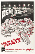 """Movie Posters:Sports, Demo Derby (Pike Productions, 1963). One Sheet (27"""" X 41""""). ..."""