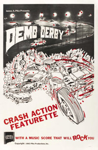 """Demo Derby (Pike Productions, 1963). One Sheet (27"""" X 41"""")"""
