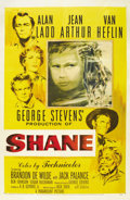 "Movie Posters:Western, Shane (Paramount, 1953). One Sheet (27"" X 41""). ..."