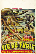"Movie Posters:Adventure, Isle of Fury (Warner Brothers, R-1940s). Belgian (14"" X 21""). ..."