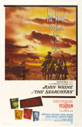 "Movie Posters:Western, The Searchers (Warner Brothers, 1956). One Sheet (27"" X 41""). ..."