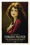 "Movie Posters:Adventure, Million Dollar Beauty (Eugene V. Brewster, 1921). One Sheet (27"" X41""). ..."