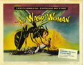 "Movie Posters:Science Fiction, The Wasp Woman (20th Century Fox, 1959). Title Lobby Card and LobbyCards (3) (11"" X 14""). ... (Total: 4 Items)"