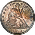Proof Seated Half Dollars, 1850 50C PR66 NGC....