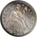Proof Seated Dimes, 1844 10C PR66 NGC....