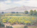 Texas:Early Texas Art - Impressionists, ROLLA TAYLOR (1871-1970). Rio Grande Valley Near El Paso.Oil on canvas. 24 x 32 inches (61.0 x 81.3 cm). Signed lower r...