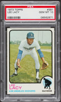Baseball Cards:Singles (1970-Now), 1973 Topps Lee Lacy #391 PSA Gem Mint 10....
