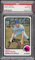 Baseball Cards:Singles (1970-Now), 1973 Topps Paul Schaal #416 PSA Gem Mint 10 - Pop Four....
