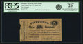 Obsoletes By State:Utah, Salt Lake City, UT - Presiding Bishop's General Store House 5 Cents Coupon in Produce and Provisions Undated (Ca. 1890s) Rust ...