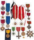Military & Patriotic:WWII, Fabulous Medal Group, Flag, and Documents Belonging to Brigadier General Lawrence Knight Ladue.... (Total: 2 Items)