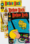 Bronze Age (1970-1979):Humor, Richie Rich Group of 87 (Harvey, 1970-74) Condition: Average NM-.... (Total: 87 Comic Books)