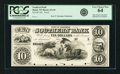 Obsoletes By State:Wisconsin, Beloit, WI - Southern Bank $10 185_ WI-65 G8. Proof. PCGS Very Choice New 64.. ...
