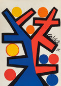 Fine Art - Work on Paper:Print, Alexander Calder (American, 1898-1976). Tree, 1972.Screenprint in colors on Arches paper. 32 x 22-3/4 inches (81.3 x57...