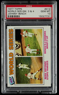Baseball Cards:Singles (1970-Now), 1977 Topps World Series #412 PSA Gem Mint 10....